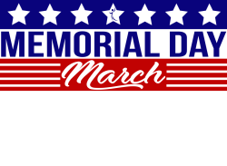 Memorial Day March West **New date Sunday June 30th**