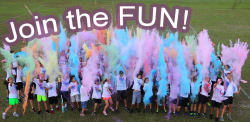 St Mary of the Lakes School my School color run