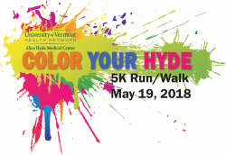 Color Your Hyde 5k Run/Walk