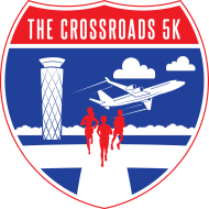 The Crossroads 5K Presented by New Balance Dayton Logo