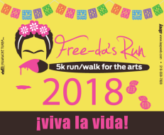 Freedas Run: 5K Run/Walk for the Arts!
