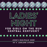 John's Run/Walk Shop Ladies' Night