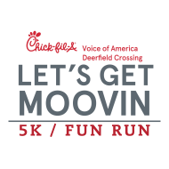 2nd Annual Chick-fil-A Let's Get Moovin 5k
