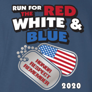 Run for the Red, White & Blue Virtual 5K/1K