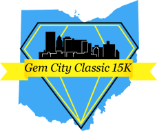The Gem City Classic 15K and 5K Presented by New Balance Dayton Logo
