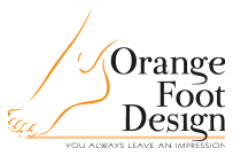 Orange Foot Design