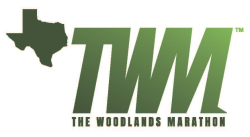 The Woodlands Marathon Logo