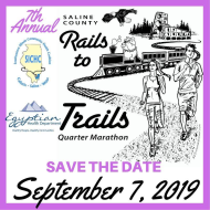Saline County Rails to Trails Quarter Marathon