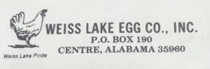 Weiss Lake Egg Co., Inc.