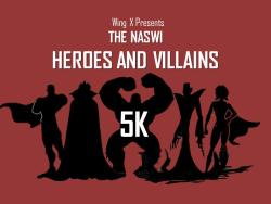 NASWI Heroes and Villains 5K Run/Walk and Kid's 1K Fun Run