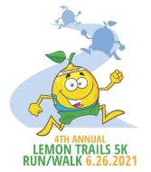 The Lemon Trails 5K Run/Walk - Hybrid Event