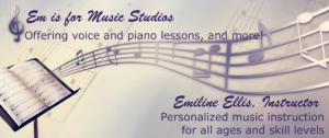 Em is for Music Studios