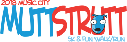 Music City Mutt Strutt 5k & 1 Mile Fun Walk/Run
