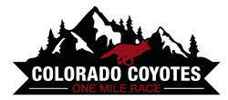 Colorado Coyotes One Mile Race