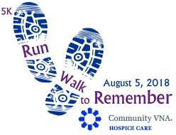 16th Annual Community VNA 5K Run/Walk to Remember