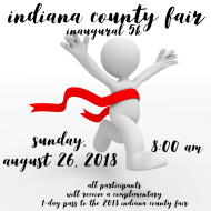 Indiana County Fair Inaugural 5k and Fun Walk
