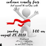Indiana County Fair 2nd Annual 5k and Fun Walk