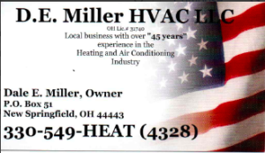 DE Miller HVAC, LLC