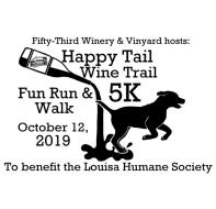 Happy Tail Wine Trail 5k Fun Run & Walk