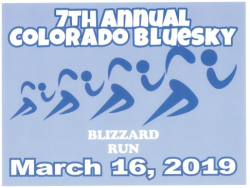 BlueSky Blizzard 5K Run/ 2 mile walk