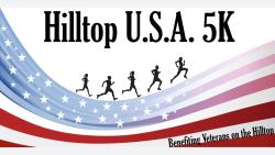 Hilltop U.S.A. 5K Logo