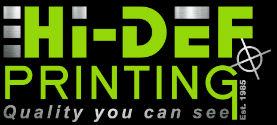Hi-Def Printing