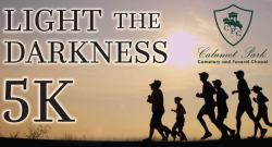 Calumet Park Light the Darkness 5K run