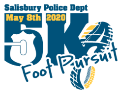Salisbury PD Foot Pursuit 5K Run/Walk - Cancelled