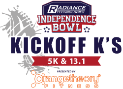 Radiance Technologies Independence Bowl Kickoff K's Presented by Orangetheory Fitness: 5K & Half Marathon