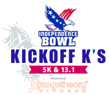 Independence Bowl Kickoff K's Presented by Orangetheory Fitness: 5K & Half Marathon