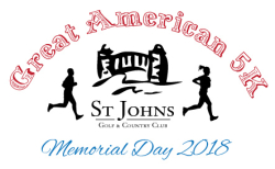 The Great American 5k Race and 1 Mile Walk - Saint Johns Golf and Country Club