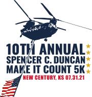 Spencer C Duncan Make It Count 5k