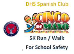 Cinco de Mayo Run / Walk For School Security