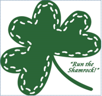 32nd Annual Shamrock Run Logo