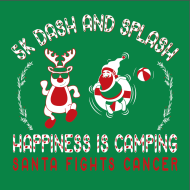 5K Dash and Splash - Santa Fights Cancer