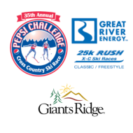 2020 Pepsi Challenge/Great River Energy Rush 25K/Giants Ridge 8K Nordic Ski Races