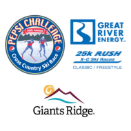 2021 Pepsi Challenge/Great River Energy Rush 25K/Giants Ridge 8K Nordic Ski Races