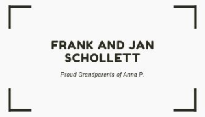 Jan and Frank Schollett