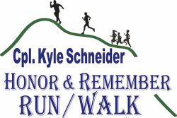 Cpl. Kyle Schneider HONOR & REMEMBER RUN/WALK 5K