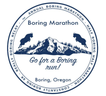 Boring Marathon, Half-Boring Half Marathon, and Constantly Boring 8K Race Series