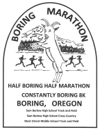 Boring Marathon, Half-Boring Half Marathon, Constantly Boring 8K and Really Boring Relay Race Series