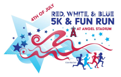 Red, White & Blue 5K at Angel Stadium