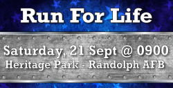 Run for Life - Randolph AFB