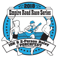 Empire Road Race Series 10K and 2-Person Relay at Porchfest