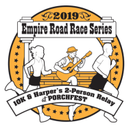 Empire Road Race Series 10K and Harper's 2-Person Relay at Porchfest