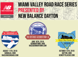 Miami Valley Road Race Series presented by New Balance Dayton
