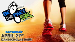 BE the FEET 5K