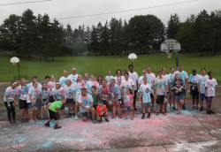 Run for LIBERTY Park Red, White, and Blue 3K Color Fun Run/Walk