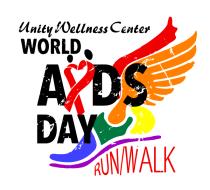 Unity Wellness Center World AIDS Day 8K & 1 Mile Run/Walk - VIRTUAL
