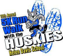 10th Annual 5K Run/Walk with the Huskies